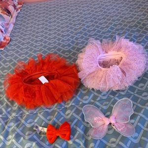 Tutus with headband and butterfly accessorie